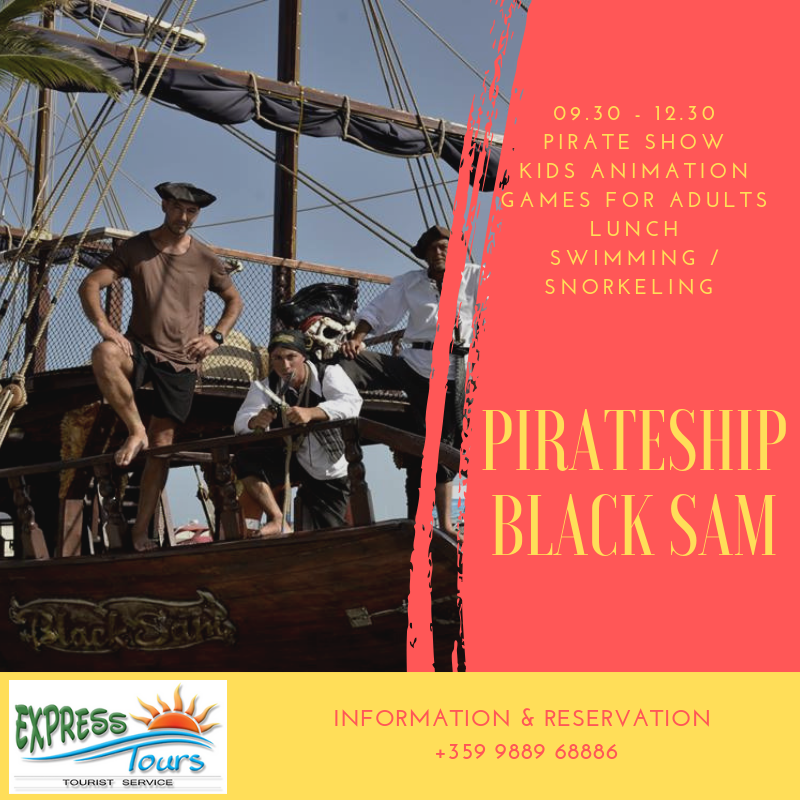 Pirateship Black Sam