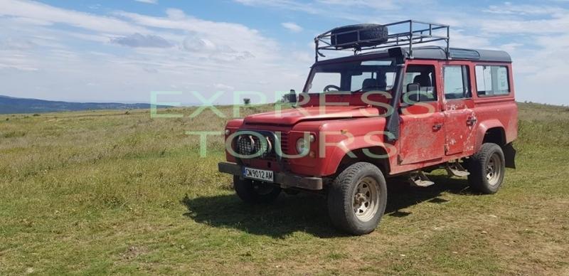 Extreme Jeep safari
