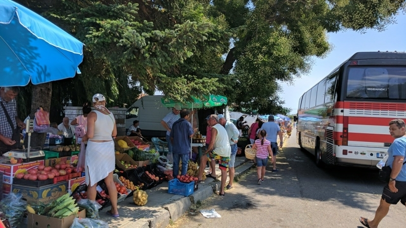 Flea market & Bourgas shopping