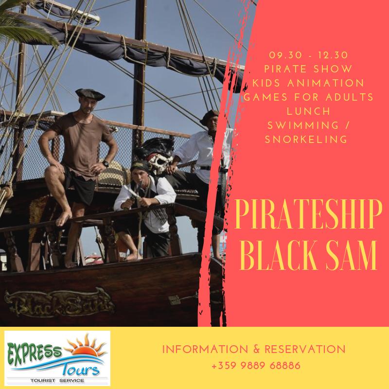 Pirateship Black Sam